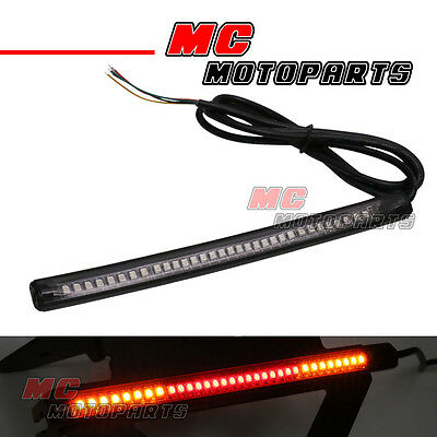 Tail Brake & Signal Function 5050 LED Strip Bar Light For Universal Motorcycles