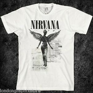 grunge vintage 90s nirvana t shirt rock alternative. Black Bedroom Furniture Sets. Home Design Ideas