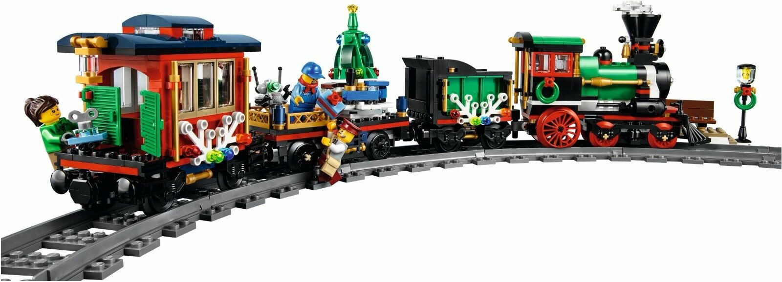 NEW Lego Christmas Theme Set  2x 10254 Winter Holiday Holiday Holiday Trains EXCLUSIVE 844839