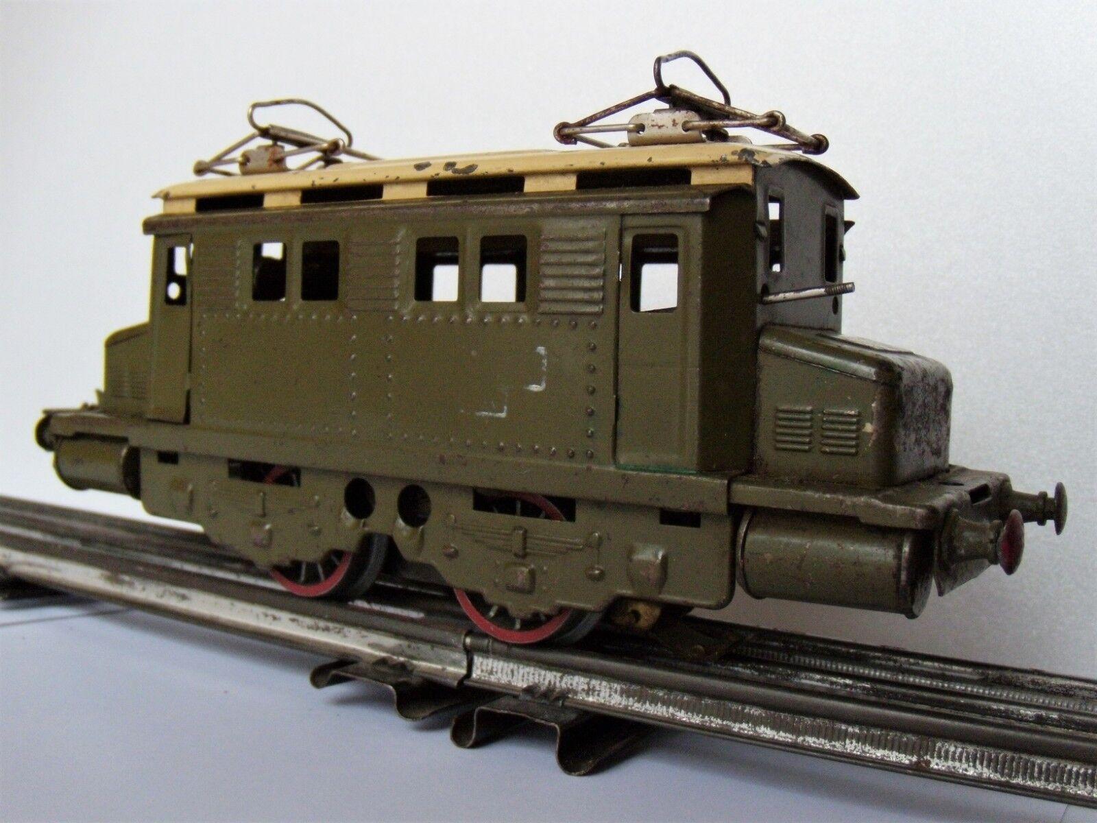 Locomotive électrique boite à sel PO Hornby échelle O 0