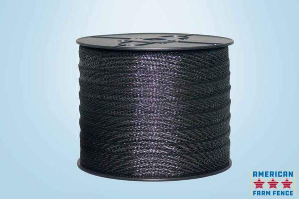 """BROWN ELECTRIC FENCE POLYTAPE 1 1//2/"""" X 660/'"""