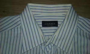 CANALI-LONG-SLEEVE-DRESS-SHIRT-SIZE-17-35-FROM-ITALY-NICE