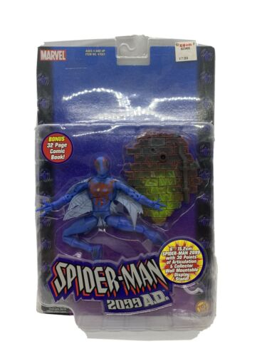 Spider-man 2099 Classics Action Figure Toy Biz Legends comic removed must see