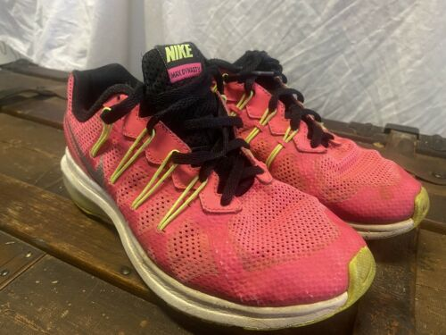 NIKE AIR MAX DYNASTY PINK SNEAKERS SIZE 4Y