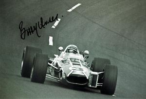 Bobby-Unser-GENUINE-SIGNED-American-Car-Racing-Legend-12x8-Photo-AFTAL-COA