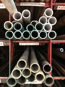 "3/"" Schedule 10 x 60/"" Long Alloy 304 Stainless Steel Pipe"