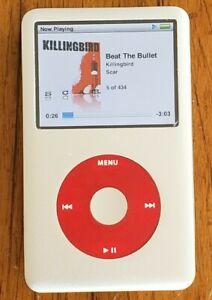 REFURBISHED !Apple iPod classic (80 GB)  THIN 6TH GEN- NEW BATTERY ! WARRANTY