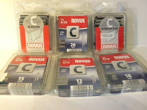 6600 pièces Novus Parenthèses type 606//c Set 12,15,18,v2a 23,26 mm par 1100
