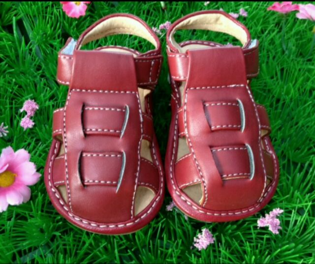 Red Unisex Podiatry Approved Sandals