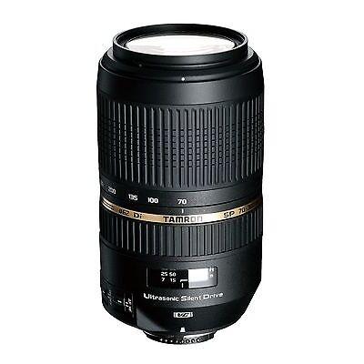 Tamron SP 70-300mm F/4.0-5.6 Di VC USD Lens For Nikon Digital SLR Cameras *NEW*