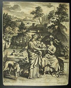 Agrippina-Thusnelda-Women-Nude-Bath-Schwalbach-Jj-Sandrart-1690-Germany-Xvii