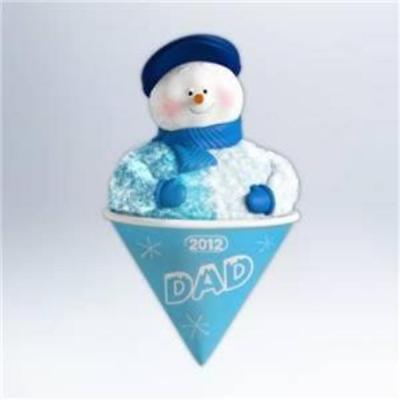 Hallmark 2012 Keepsake Christmas Ornament QXG4584 Dad | eBay