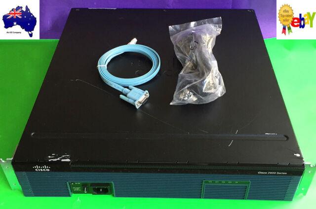 Cisco 2951-SEC/K9 w/ Data, SEC LICs, 256F/2GD, 157(3)M5, Warranty, Invoice