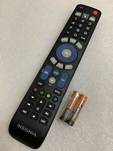 Details about GENUINE INSIGNIA NS-RMT3D18 3 Device Universal Remote Control  Only
