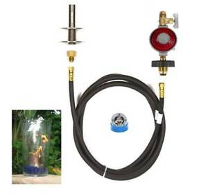 B4ck Basic Propane Diy Gas Fire Pit Kit Amp 4 Quot Lifetime