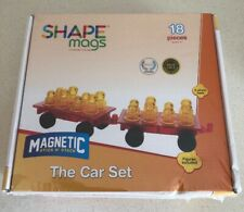 Set of 2 Wheel Bases Award Winning Magnetic Stick N Stack 16 Figures