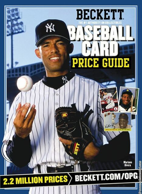 Beckett baseball magazine card price guide may 2014 derek jeter | ebay.