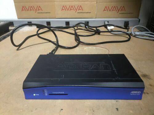 Adtran NetVanta 3430 1202820G1 with Dual T1 DBU 1202872L1