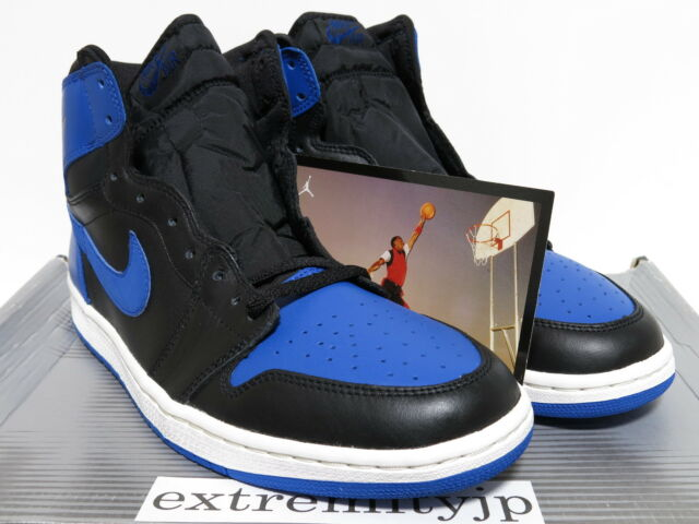 0a2bb03e435f Frequently bought together. DS 2001 NIKE AIR JORDAN 1 RETRO black royal ...