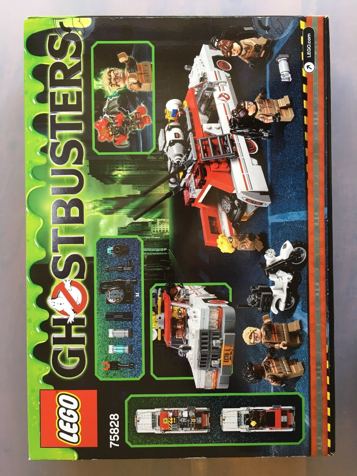 LEGO 75828 - Ghost busters Ecto 1&2 - NEW Factory sealed - 2016