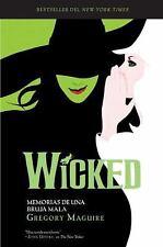 Wicked: Memorias de una Bruja Mala (Wicked Years) (Spanish Edition)-ExLibrary