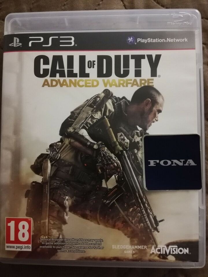Call of duty advanced warfare, PS3, action