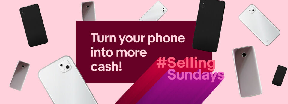 Sell now - Make £61 more by selling your phone on eBay*