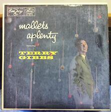 Terry Gibbs - Mallets A Plenty LP VG MG 36075 Vinyl 1956 EmArcy Mono USA Jazz