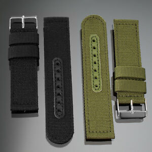 INFANTRY-20-22mm-Nylon-Canvas-Watch-Band-Strap-Military-Tactical-Army-Buckle