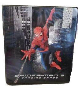 Spider-Man-3-Movie-Rittanhouse-Archives-Card-Album-Binder-Marvel-w-Full-Set