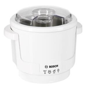 Bosch MUZ5EB2 Eisbereiter Weiß max. 550 ml Eis  für Küchenmaschine MUM5   B-Ware