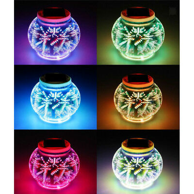 Color Changing Solar Led Ceramic Table