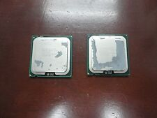 LOT OF 2 Intel Core 2 Quad Q9500 SLGZ4 2.83GHz  CPU Processor
