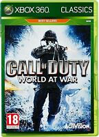 Call Of Duty World At War Xbox 360 Brand Factory Sealed
