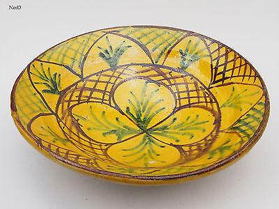 Orient Keramik Schale Islamic Glazed Village Clay Pottery Bowl Afghanistan 17/d