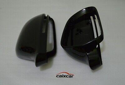 CAIXCAR carcasas de retrovisores cubierta de espejo Cla C117 X117 negro brillo