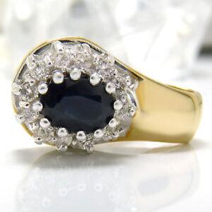 Anhaenger-585-Gelbgold-Weissgold-1-Saphir-ca-1-00-ct-und-12-Diamanten-ca-0-20-ct