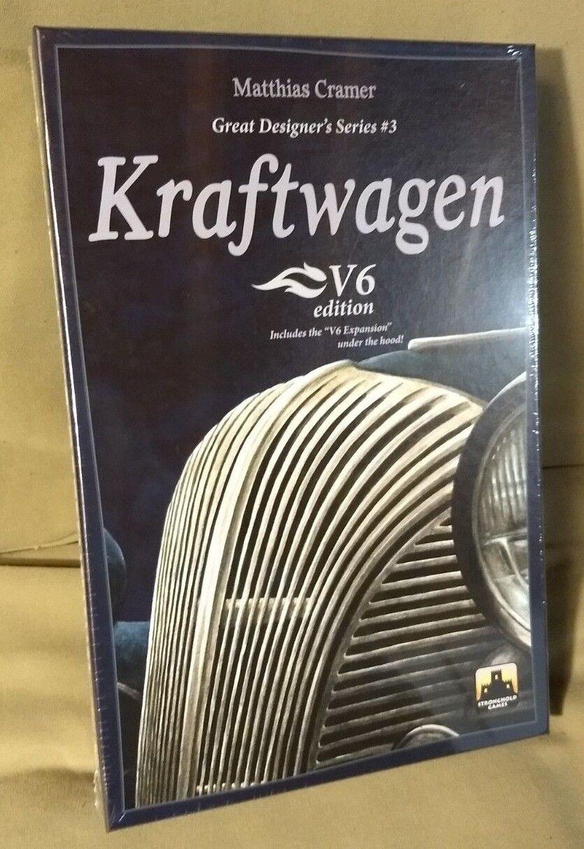 Kraftwagen V6 Edition by Matthias Kramer board game NEW in shrink wrap