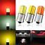 2-10X-1156-BA15S-P21W-COB-Ampoule-DEL-SideLight-Indicateur-Turn-Tail-DRL-Lumiere-DC12V miniature 1