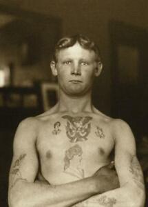 Antique-Photo-Tattooed-German-Stowaway-New-York-Photo-Print-5x7