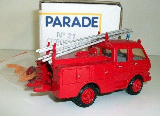 PARADE MODELS 1 50 - NO.21 CITROEN 350 POMPIER P.S P.S P.S MAHE  LABROSSE - FIRE ENGINE 7d04f4