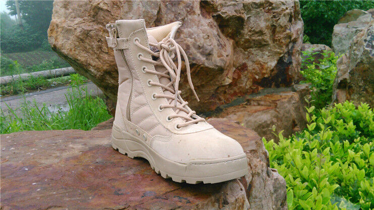 Bota tipo militar Men's Military Tactical Ankle Boots Desert Combat Army