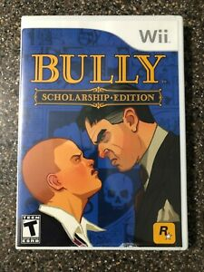 Bully-Scholarship-Edition-Nintendo-Wii-2008-Clean-amp-Tested-Working