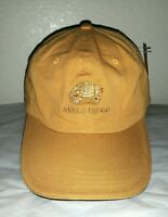 W/tag Embroidered Wells Fargo Logo Promo Sports Cap Hat Slide Back Strap
