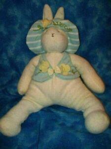 Hallmark-Bunnies-by-the-Bay-Cream-BUTTERCUP-12-034-Bunny-Rabbit-Beanbag-Plush-Toy