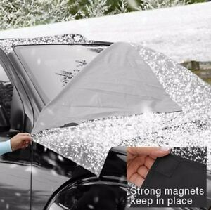 Details about SUV Truck Windshield Cover Tarp Protect Snow Ice Frost Freeze  Winter JH Smith