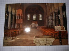 Cartolina Grado Basilica Interno 1977 ( ps730)