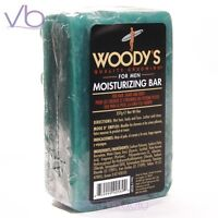 Woody's Moisturizing Bar For Men - 3 In 1 For Hair, Shave And Body Made In Usa