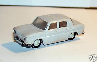 a OLD MICRO NOREV HO 1//86 1//87 RENAULT 8 R8 GRIS CLAIR DES ANNES 1960