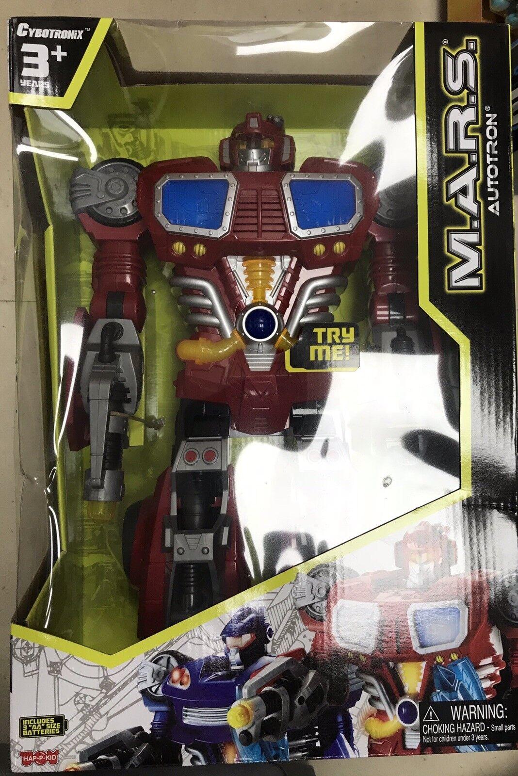 M.A.R.S. Autotron - Turbo Fighter Robot
